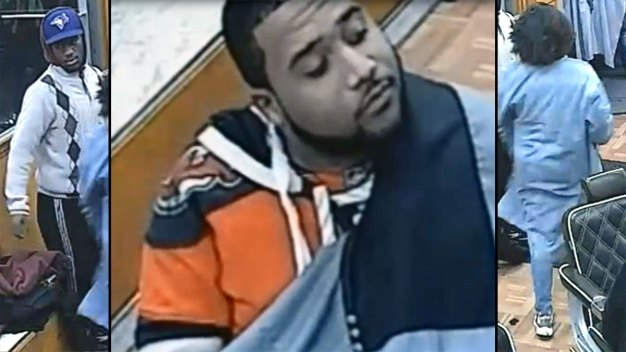 Surveillance Video of Barbershop Beating Suspects