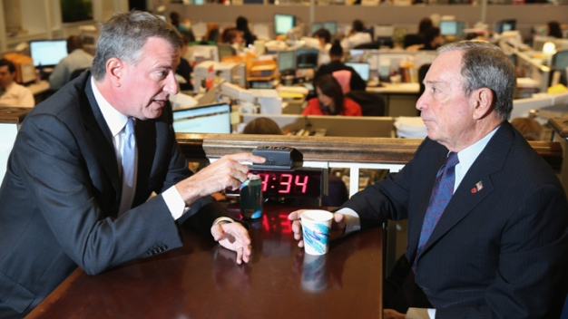 Mayor Bloomberg Compares NYC Election to Hemlines