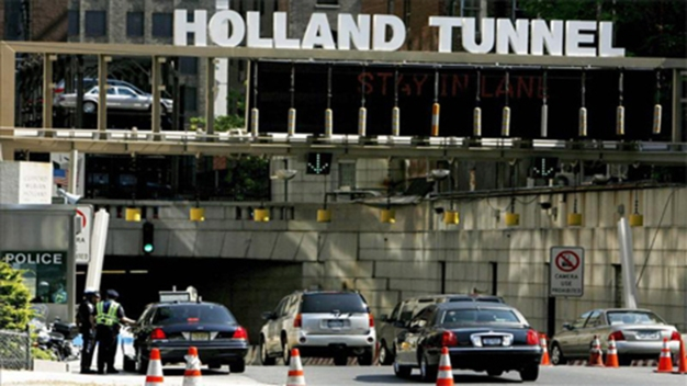 Major Traffic Headaches at Holland Tunnel After Fire