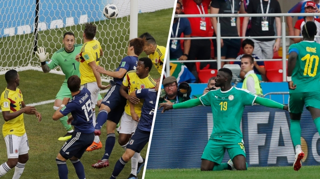 World Cup: Japan Shocks Colombia, Senegal Beats Poland
