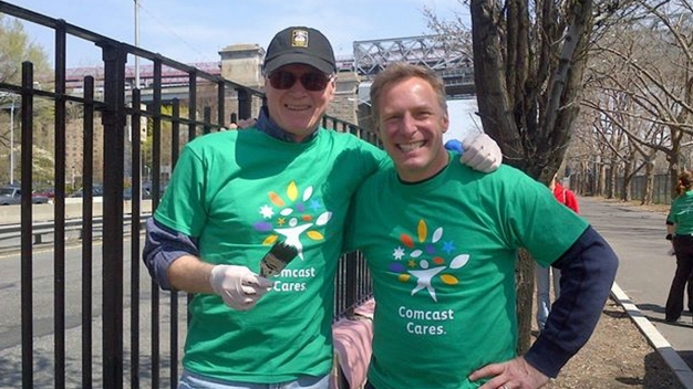 NBC 4 New York York Celebrates Comcast Cares Day