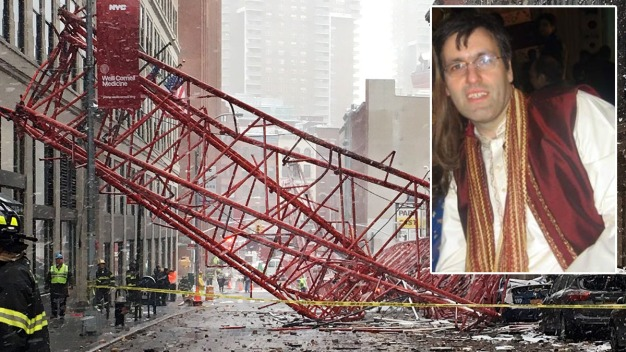 Man Killed by Falling Crane A 'Brilliant' Harvard Grad: Family
