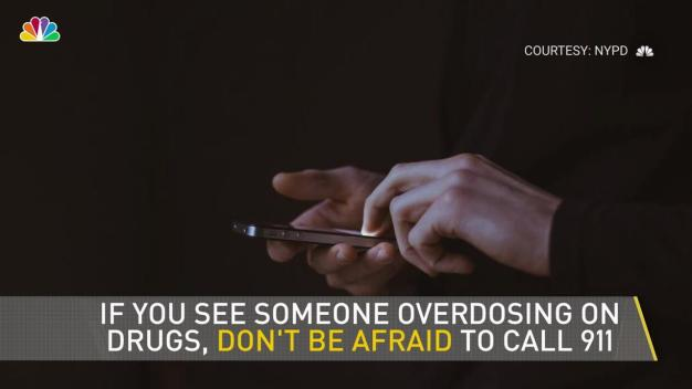 No Arrests for Calling in Overdoses: Cop Campaign