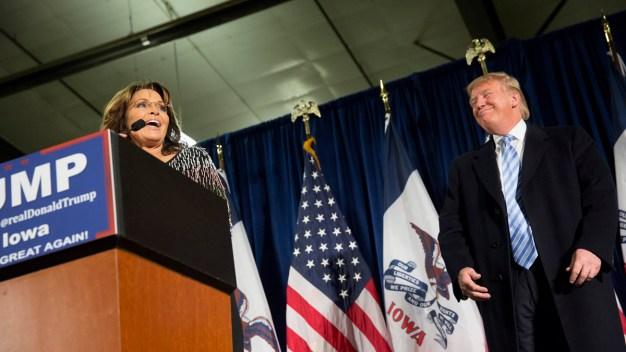 Sarah Palin Warns of 'Crony Capitalism' After Trump Deal