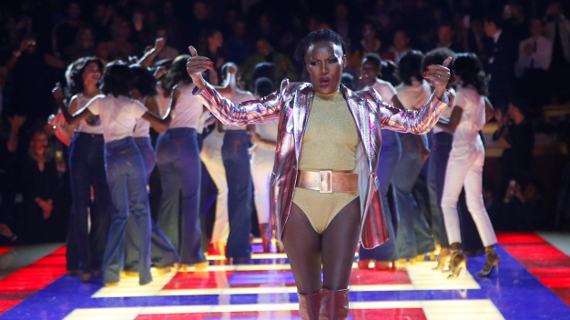 Grace Jones Rocks Zendaya Show as Valentino Gets Ovation}