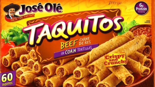 José Olé Taquitos Recalled for Possible Rubber, Plastic