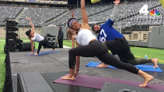 NY Giants' Justin Pugh: Yoga Helped My Career
