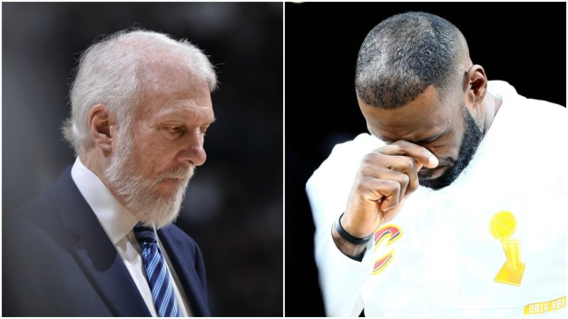 James Defends Reporter Asking About Death of Erin Popovich
