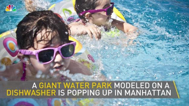 Giant 'Dishwasher' Water Park Coming to Manhattan