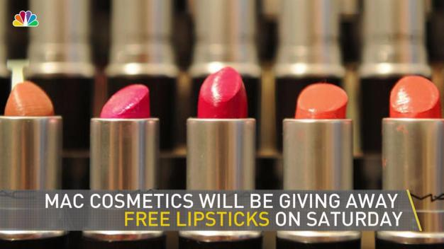 MAC Giving Away Free Lipstick, No Catch