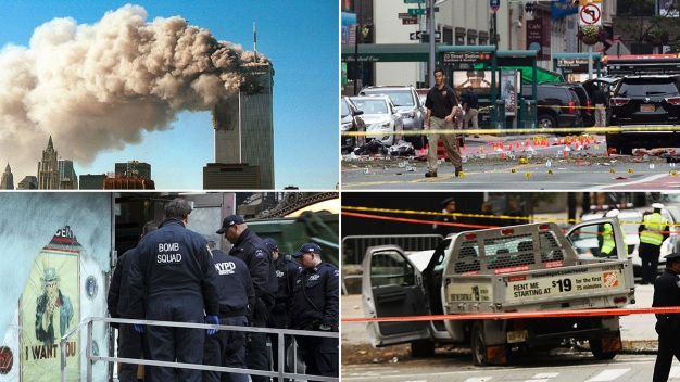 Timeline of Terror Attacks in NYC