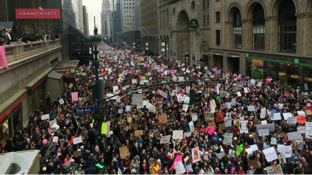 Street Closures for NYC Women's March 2018