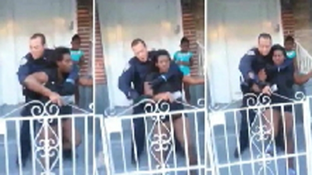Pregnant Mom Alleged NYPD Chokehold in BBQ Flap