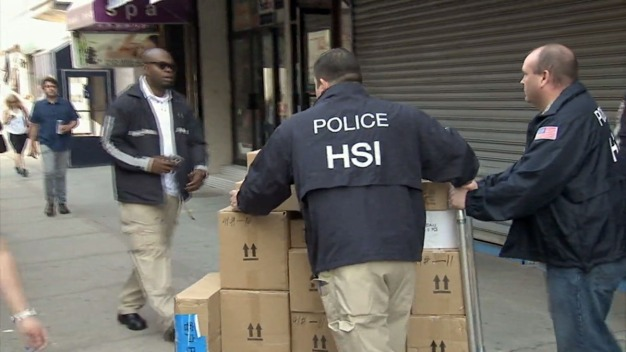 Feds, NYPD Raid Warehouses in Counterfeit Goods Bust