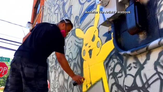 Pokemon Go Mural Debuts in New York