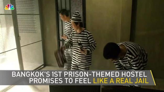 First Prison-Themed Hostel Opens in Bangkok