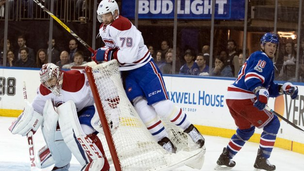 Rangers Beat Canadiens 3-1 to Reach East Semifinals