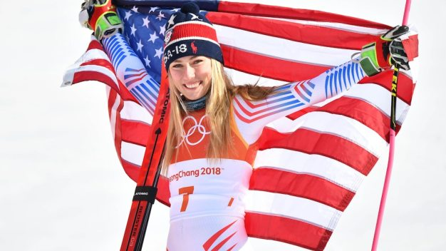 Shiffrin Takes Silver in Alpine Combined, Vonn Skis Out