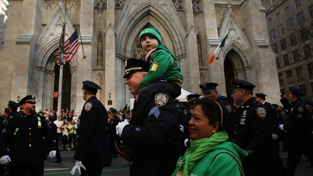 Scenes From NYC's St. Patrick's Day Parade