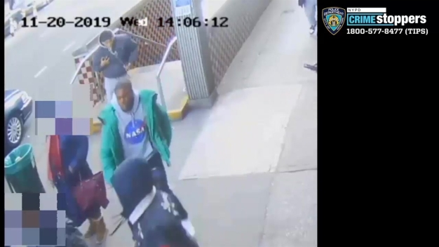 Surveillance Shows Men Wanted in Subway Attack on Couple