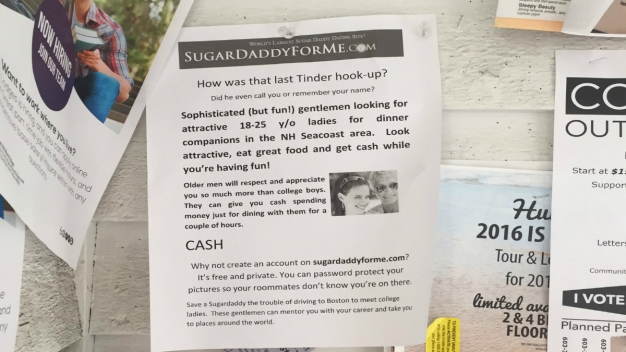 'Sugar Daddy' Ads Seeking Female Students Pop Up on College Campus