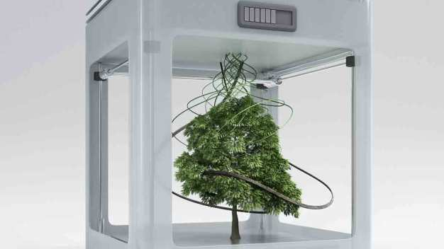 Beyond Plastic: 3-D Printing Goes Green