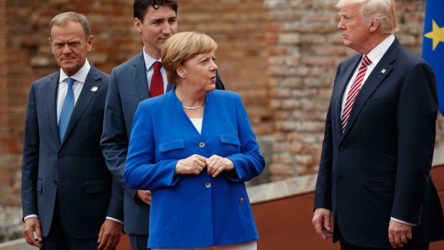 Germany's Merkel Signals Deepening Rift With US Under Trump