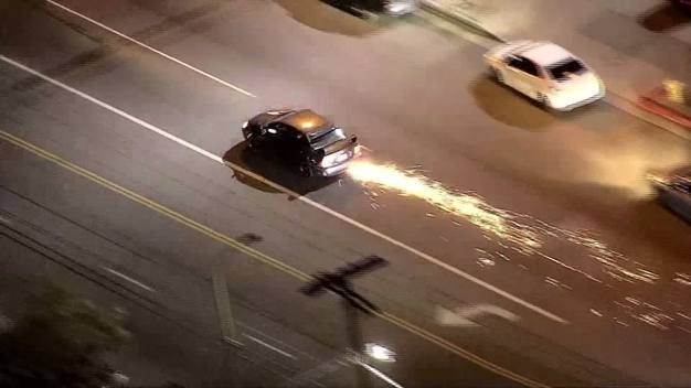 Driver Leads Police on Wild High-Speed Chase