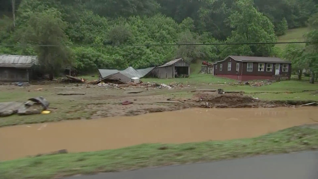Heavy Rains Cause Historic Flooding in West Virginia