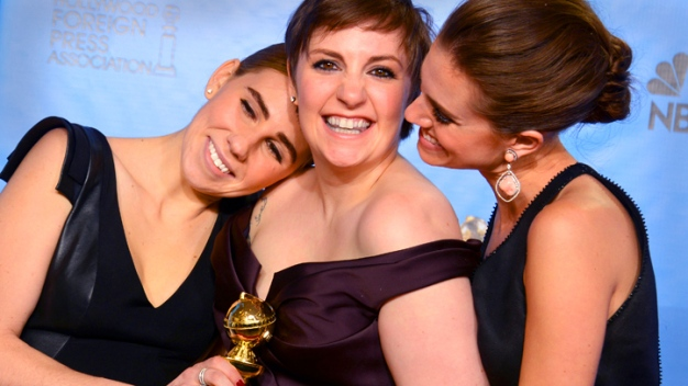 """Girls,"" ""Argo,"" ""Les Mis"" Big Globes Winners"