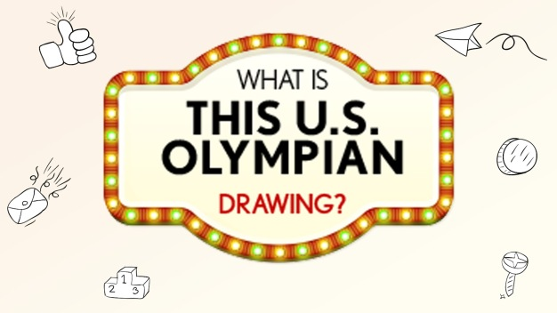 What is This U.S. Olympian Drawing?