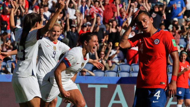 Sunday's US Women's World Cup Win Set Group Match Ratings Record