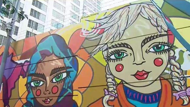 Graffiti Artists Find Canvas at World Trade Center