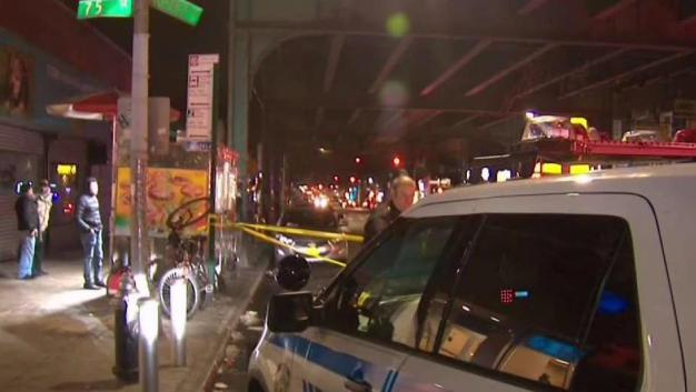 Man Plunges to Death From Subway Beam