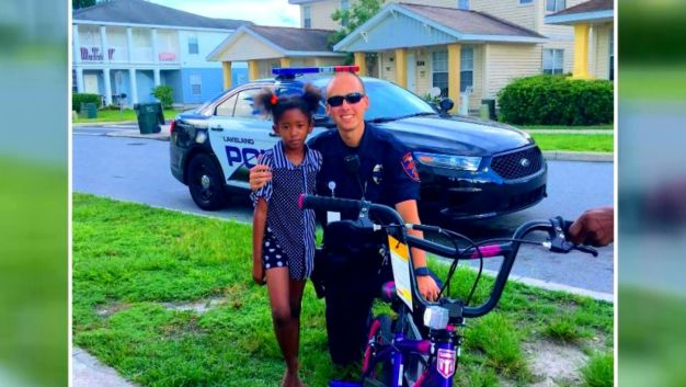 Cop Buys 6-Year-Old New Bike After Thieves Still Wheels