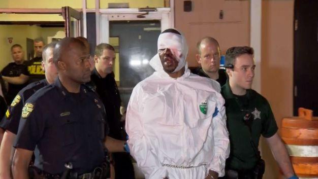 Suspect in Orlando Cop Killing Taken to Jail