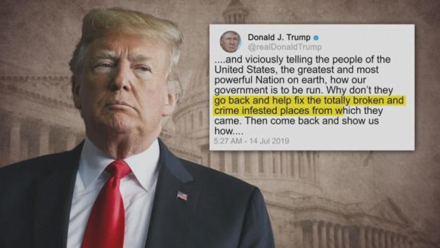 Facing Censure, Trump Insists 'Not a Racist Bone in My Body'
