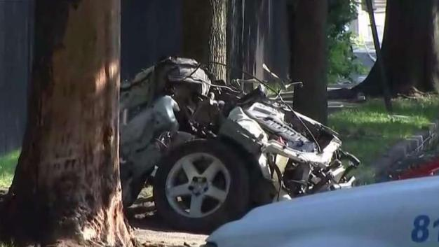 New Jersey Police Chase Ends in Fiery Crash
