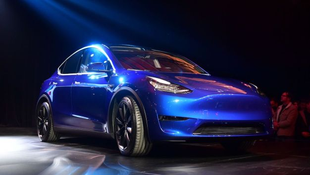 Tesla Unveils New Model Y SUV