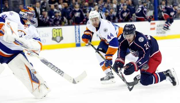 Islanders Beat Blue Jackets, 3-2