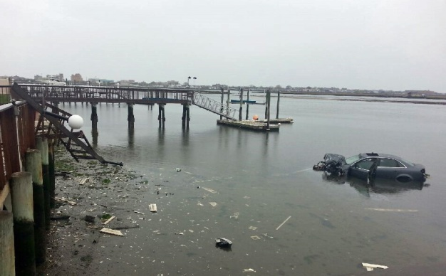 Men Rescued After Car Plunges Into Water: Police