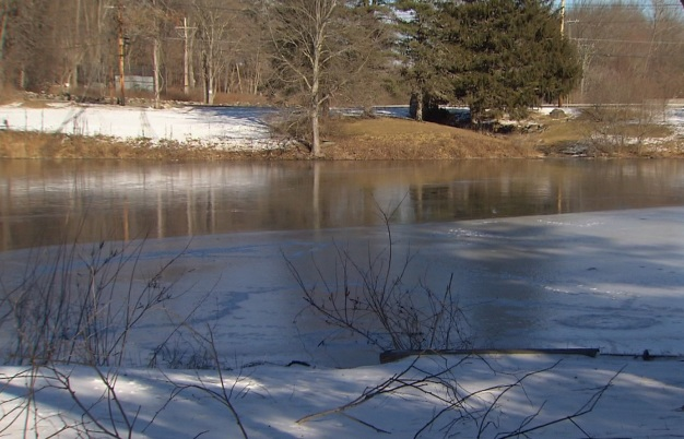 Trooper Rescued from Icy Pond after Rescuing Dog
