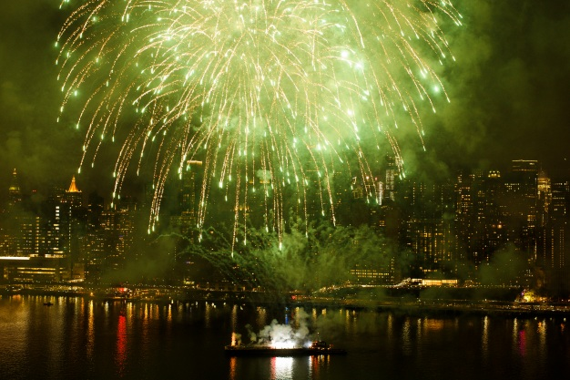 NYC Fireworks Show Dazzles Millions on Fourth of July