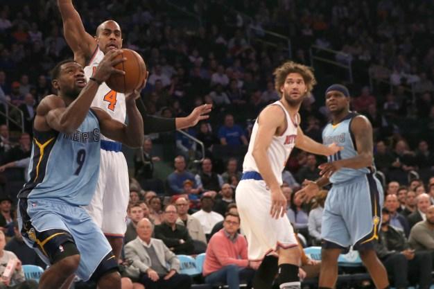 Grizzlies Beat Knicks 91-85