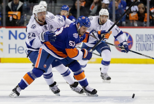 Islanders Fall to Lightning in OT 5-4