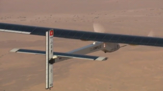 Solar Impulse Gets Ready for Takeoff