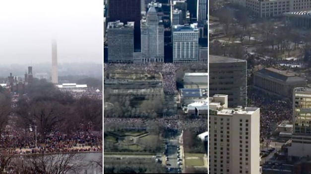 Watch Women's Marches From Across the Country