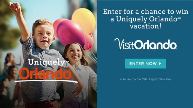 Enter for a Chance to Win a Uniquely Orlando℠ Vacation!