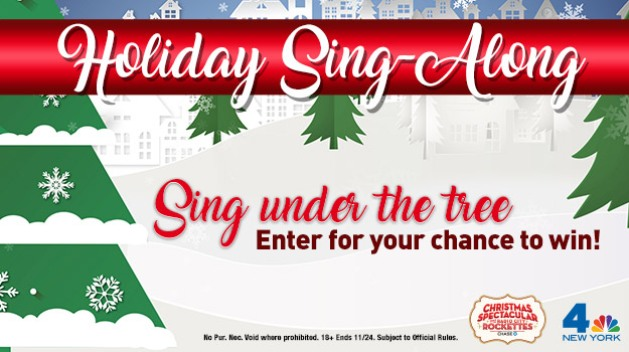 WNBC Holiday Sing-Along Sweepstakes