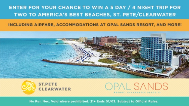 St. Pete Clearwater Sweepstakes